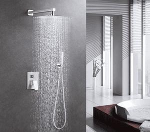 Avantages d'une colonne de douche encastrable